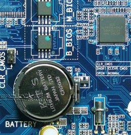 батарея биос на мат. плате