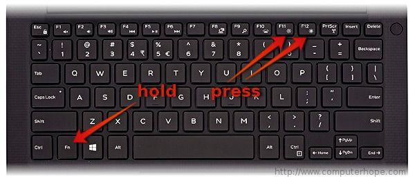 Добавить яркость на ноутбуке