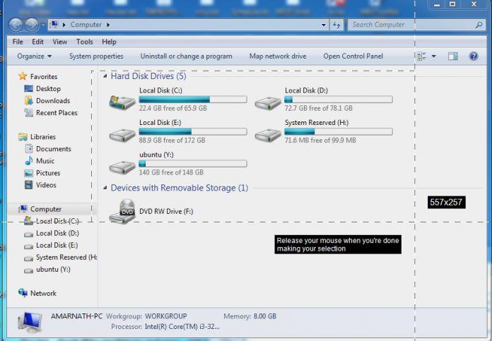 Как сделать скриншот на ноутбуке windows 7
